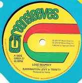 Barrington Levy & Trinity - Lose Respect (Greensleeves) 12""